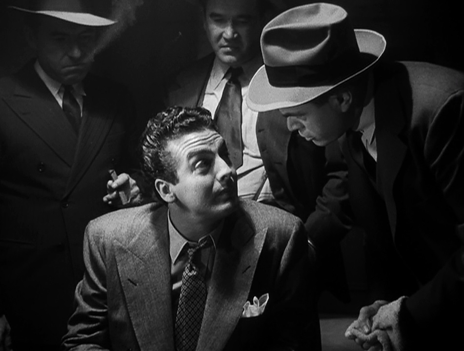 Victor Mature gets the third degree in 'I Wake Up Screaming'